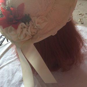 Vintage Accessories - Vintagebhristmas Holiday Wedding Picture HAT …